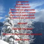 menu capodanno 2013 rifugio la chardouse oulx vazon natale ciaspole
