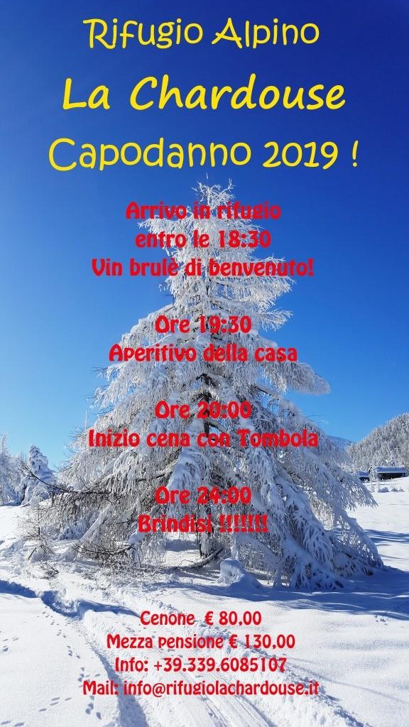 Capodanno al Rifugio La Chardouse, Borgata Vazon Oulx
